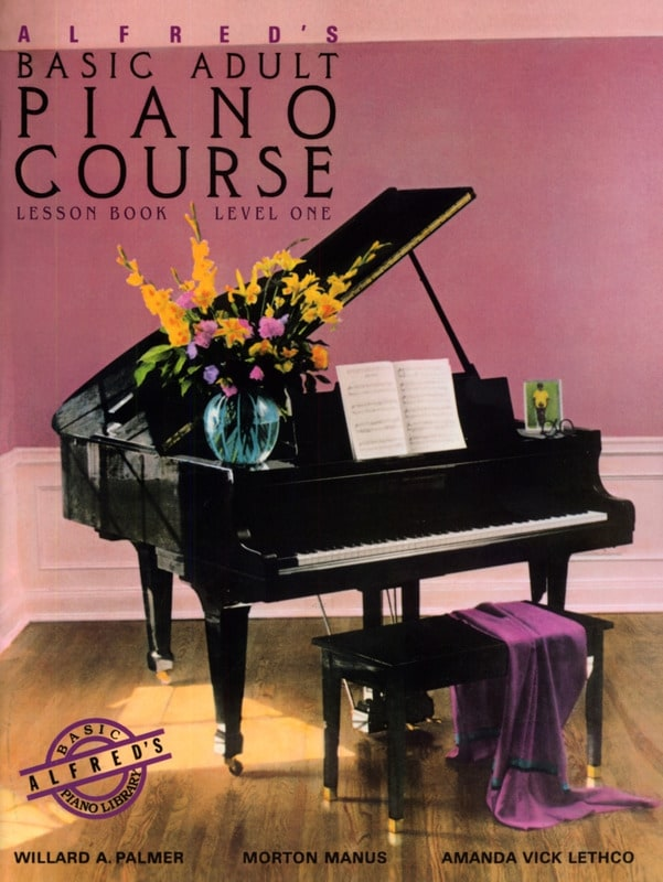Alfred's Basic Adult Piano Course Vol. 1 - ALFRED - laflutedepan.com