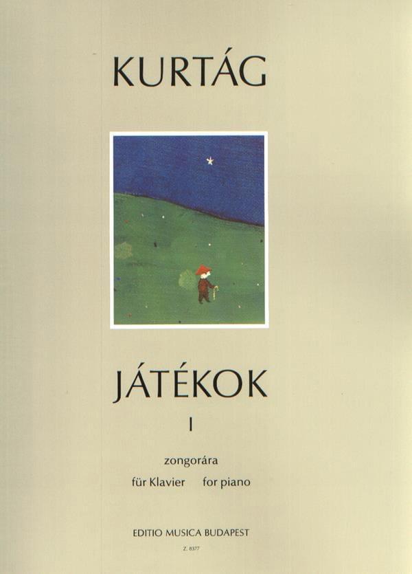 György Kurtag - Jatekok Volume 1 - Partition - di-arezzo.co.uk