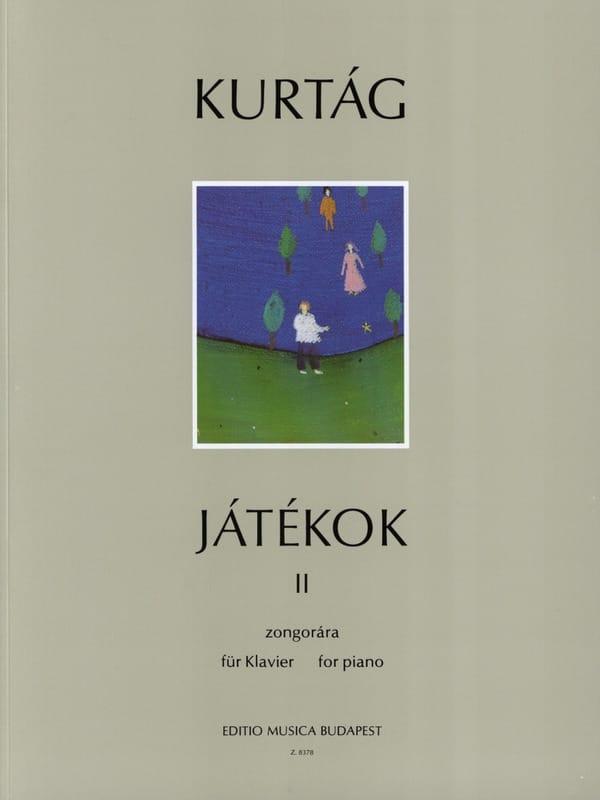 György Kurtag - Jatékok Volume 2 - Partition - di-arezzo.co.uk