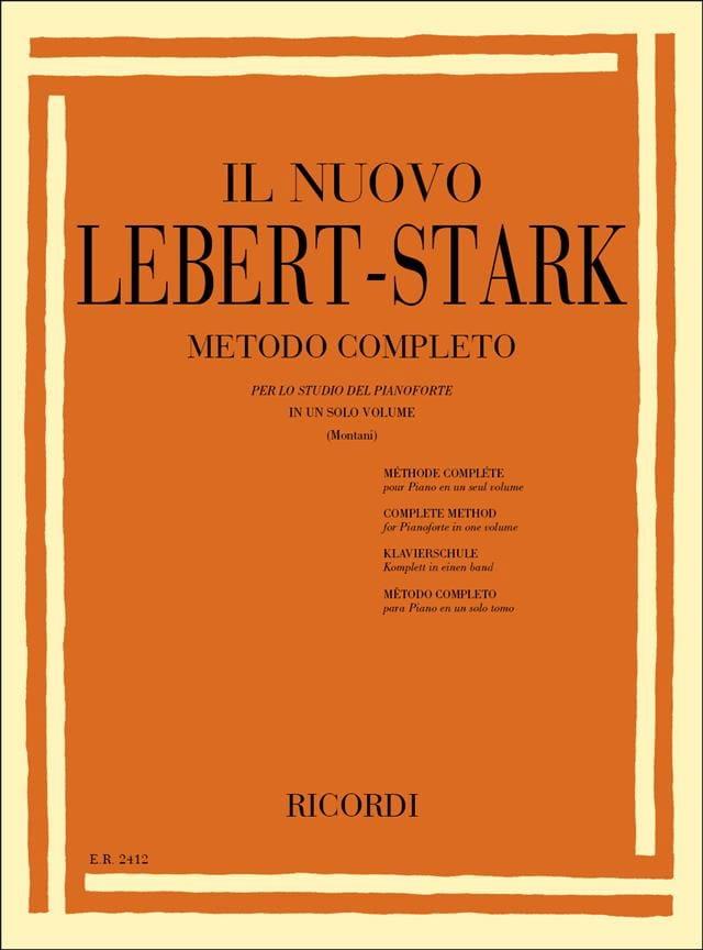 Méthode Complète pour PIano - Lebert-Stark - laflutedepan.com