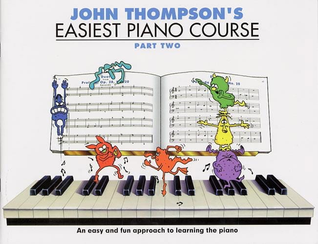 - Easiest Piano Course Volume 2 - Partition - di-arezzo.co.uk