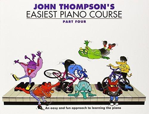 John Thompson - 最も簡単なピアノコース4 - Partition - di-arezzo.jp