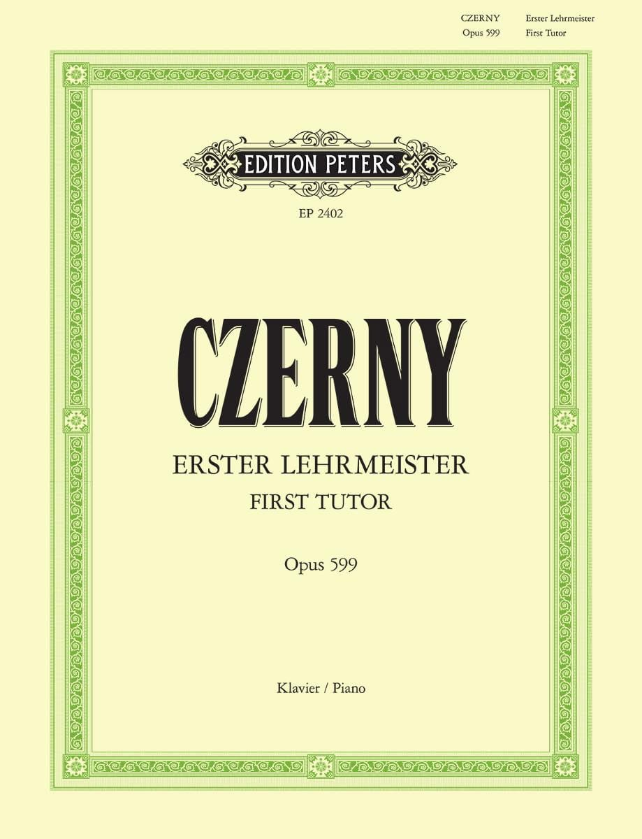 CZERNY - The First Master Opus 599 - Partition - di-arezzo.com