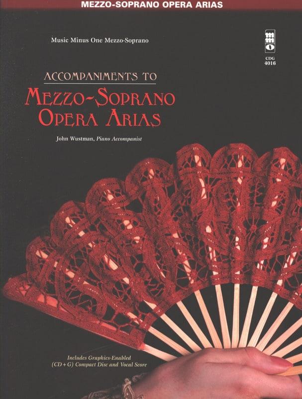 Famous Opera Arias. Mezzo Soprano - Partition - laflutedepan.com