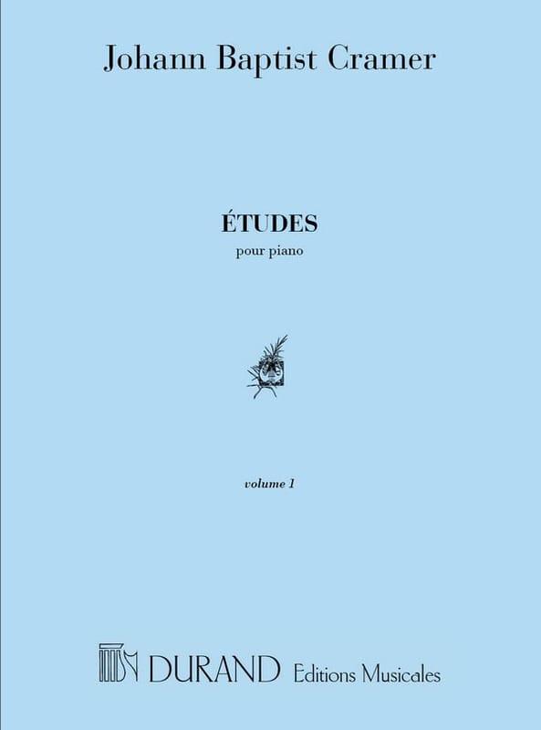 Etudes Volume 1 - Jean-Baptiste Cramer - Partition - laflutedepan.com