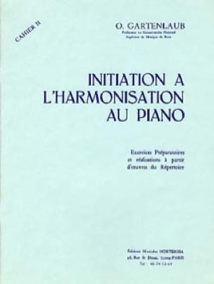 Odette Gartenlaub - Introduction to Piano Harmonization - Volume 2 - Partition - di-arezzo.com