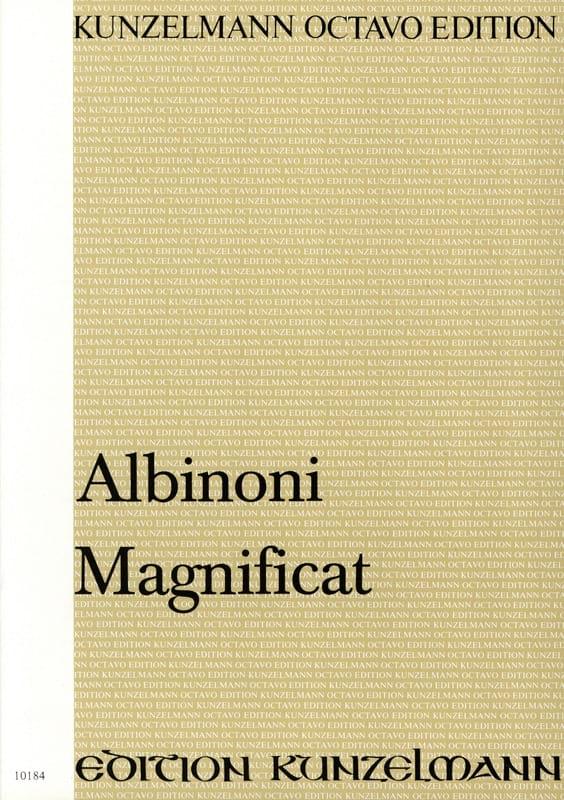 Magnificat. Conducteur - ALBINONI - Partition - laflutedepan.com