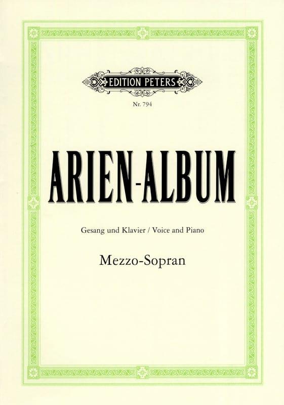 Arien Album Mezzo - Partition - Opéras - laflutedepan.com