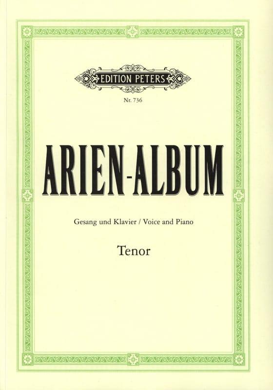 Arien Album Ténor - Partition - Recueils - laflutedepan.com