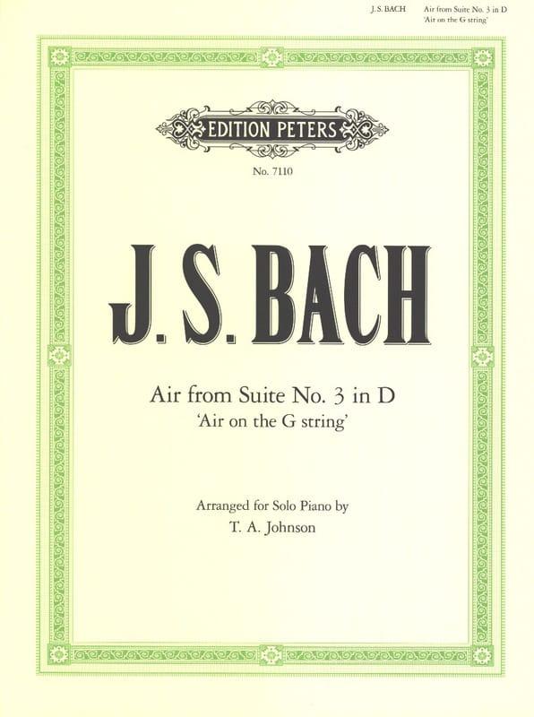 Air de la Suite N°3 En Ré BWV 1068 - BACH - laflutedepan.com