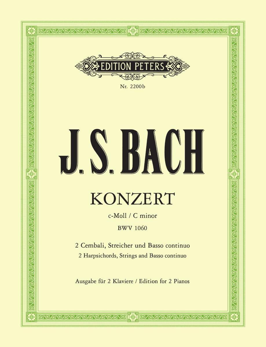 Concerto Pour 2 Claviers En Do Mineur BWV 1060 - laflutedepan.com