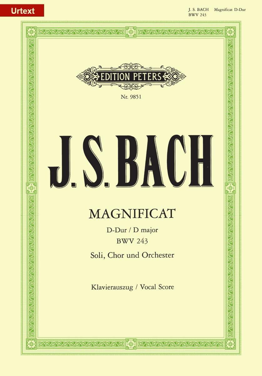 Magnificat en Ré Majeur - BACH - Partition - Chœur - laflutedepan.com