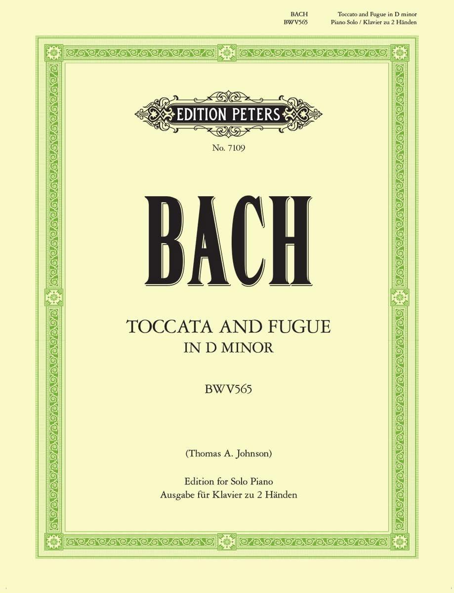 Toccata et Fugue En Ré Mineur BWV 565 - BACH - laflutedepan.com