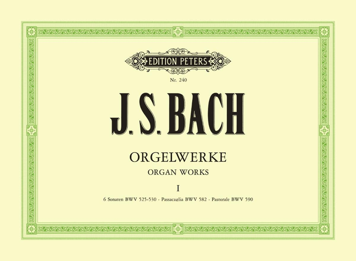 Orgelwerke. Volume 1 - BACH - Partition - Orgue - laflutedepan.com