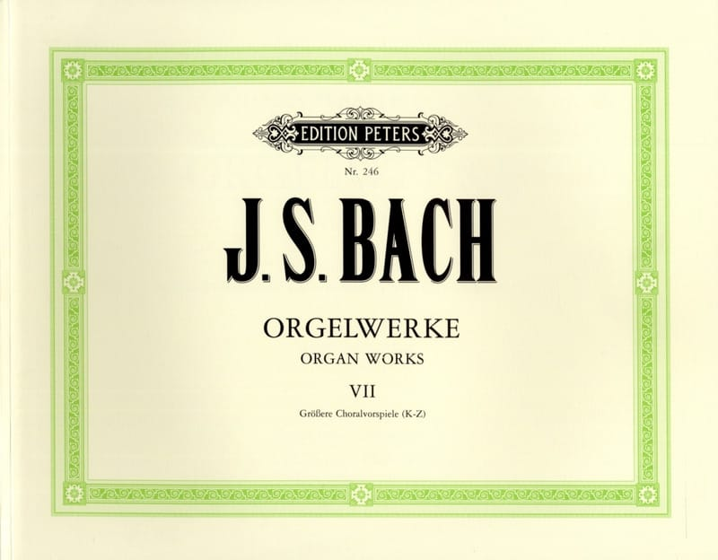 Orgelwerke. Volume 7 - BACH - Partition - Orgue - laflutedepan.com