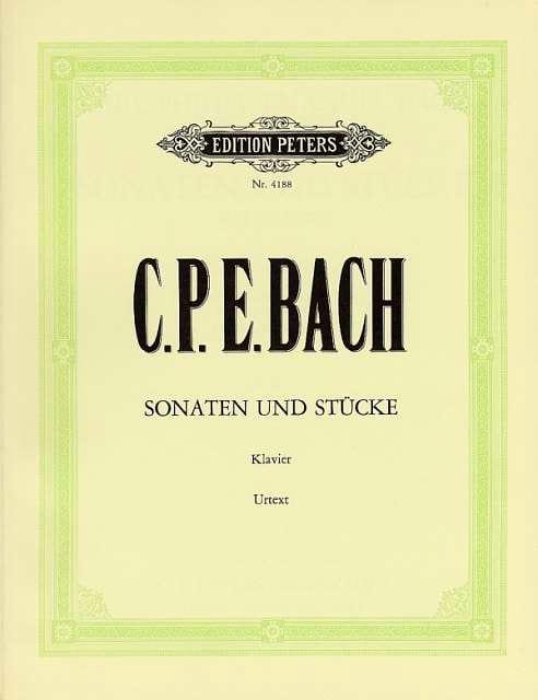 Carl-Philipp Emanuel Bach - Sonaten und Stücke - Partition - di-arezzo.com