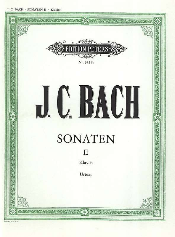 Sonates Volume 2 - Johann Christian Bach - laflutedepan.com
