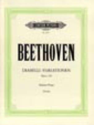 Diabelli-Variationen Opus 120 - BEETHOVEN - laflutedepan.com