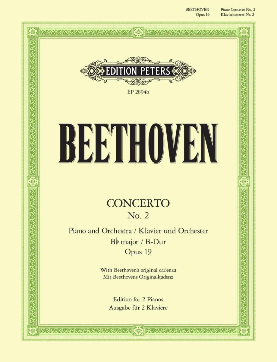 BEETHOVEN - Concierto para piano n.º 2 Opus 19 In B Flat Major - Partition - di-arezzo.es