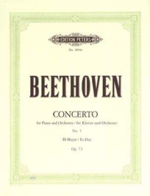 BEETHOVEN - Concierto para piano n.º 5 Opus 73 en mi bemol mayor - Partition - di-arezzo.es