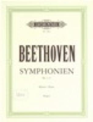 Symphonies 1-5. Volume 1 - BEETHOVEN - Partition - laflutedepan.com