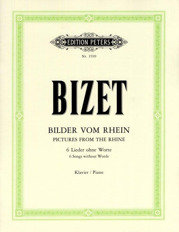 Chants Du Rhin - BIZET - Partition - Piano - laflutedepan.com