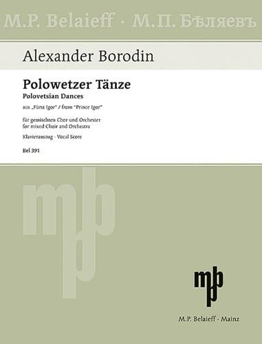 Polowetzer Tänze. Prince Igor - BORODINE - laflutedepan.com