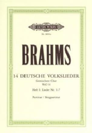 Deutsche Volkslieder Volume 1 Woo 34 - BRAHMS - laflutedepan.com