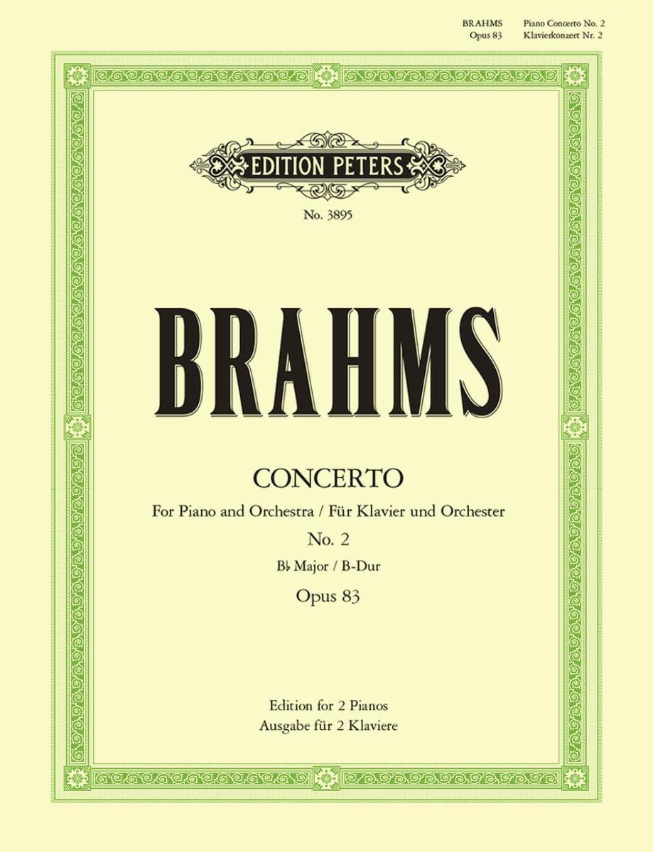 Concerto pour piano n° 2 Opus 83 en si bémol majeur - laflutedepan.com