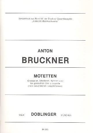 Motetten. - Anton Brückner - Partition - Chœur - laflutedepan.com