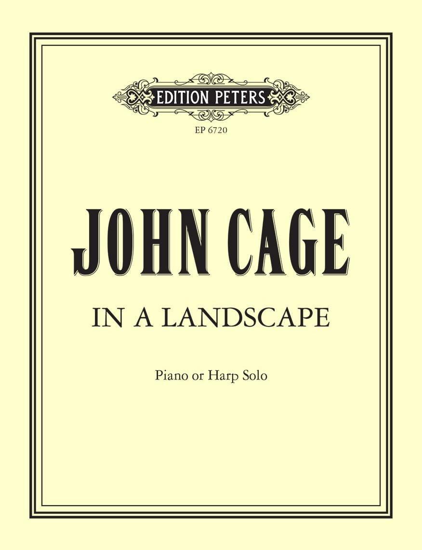 John Cage - In A Landscape - Partition - di-arezzo.co.uk