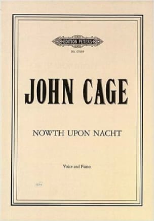 Nowth Upon Nacht - CAGE - Partition - Mélodies - laflutedepan.com