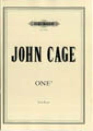 One 5 - John Cage - Partition - Piano - laflutedepan.com