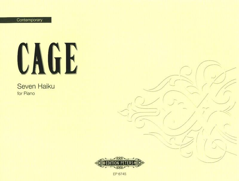 John Cage - 7 Haiku - Partition - di-arezzo.co.uk