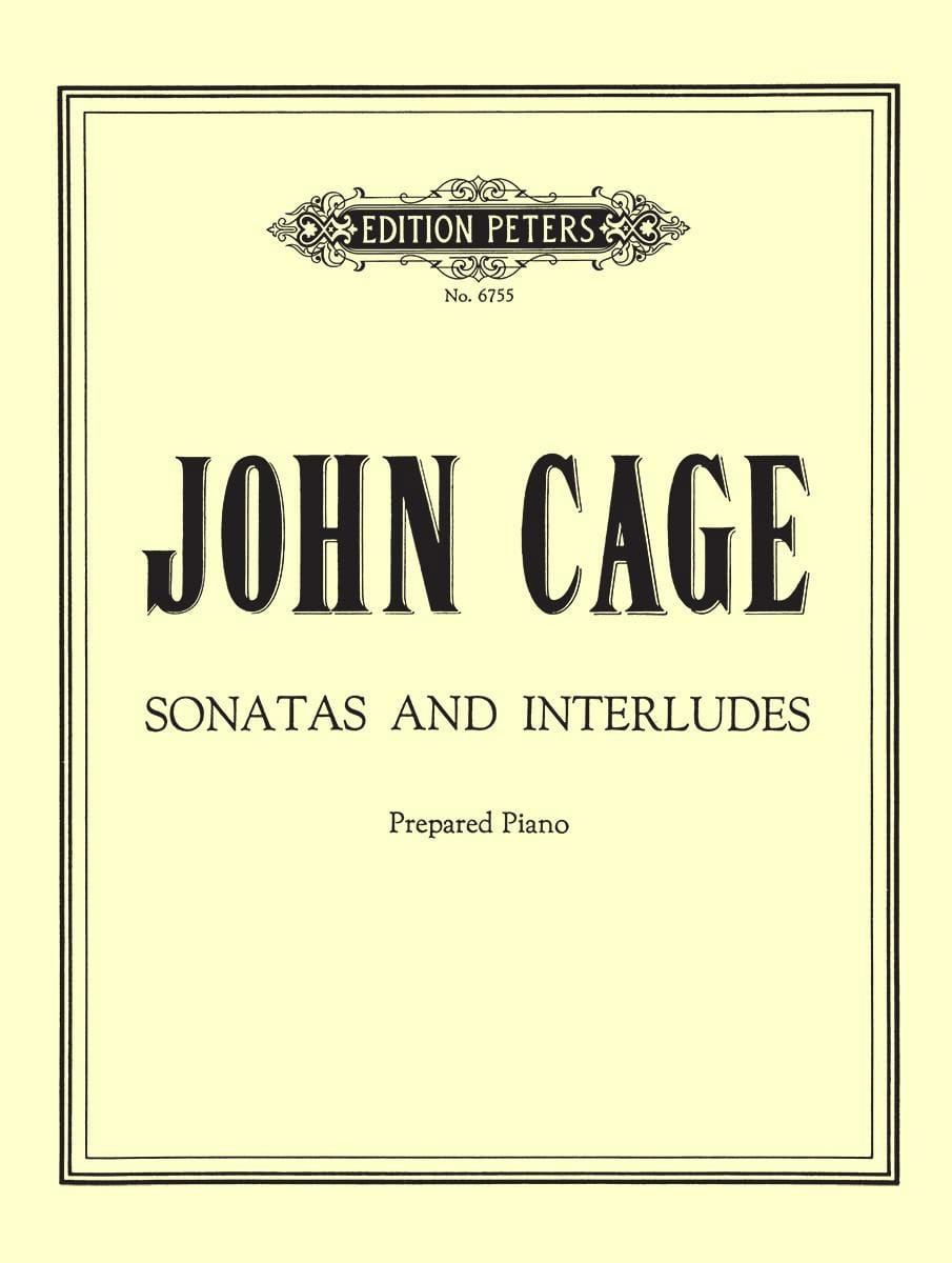 John Cage - Sonatas and Interludes - Partition - di-arezzo.com