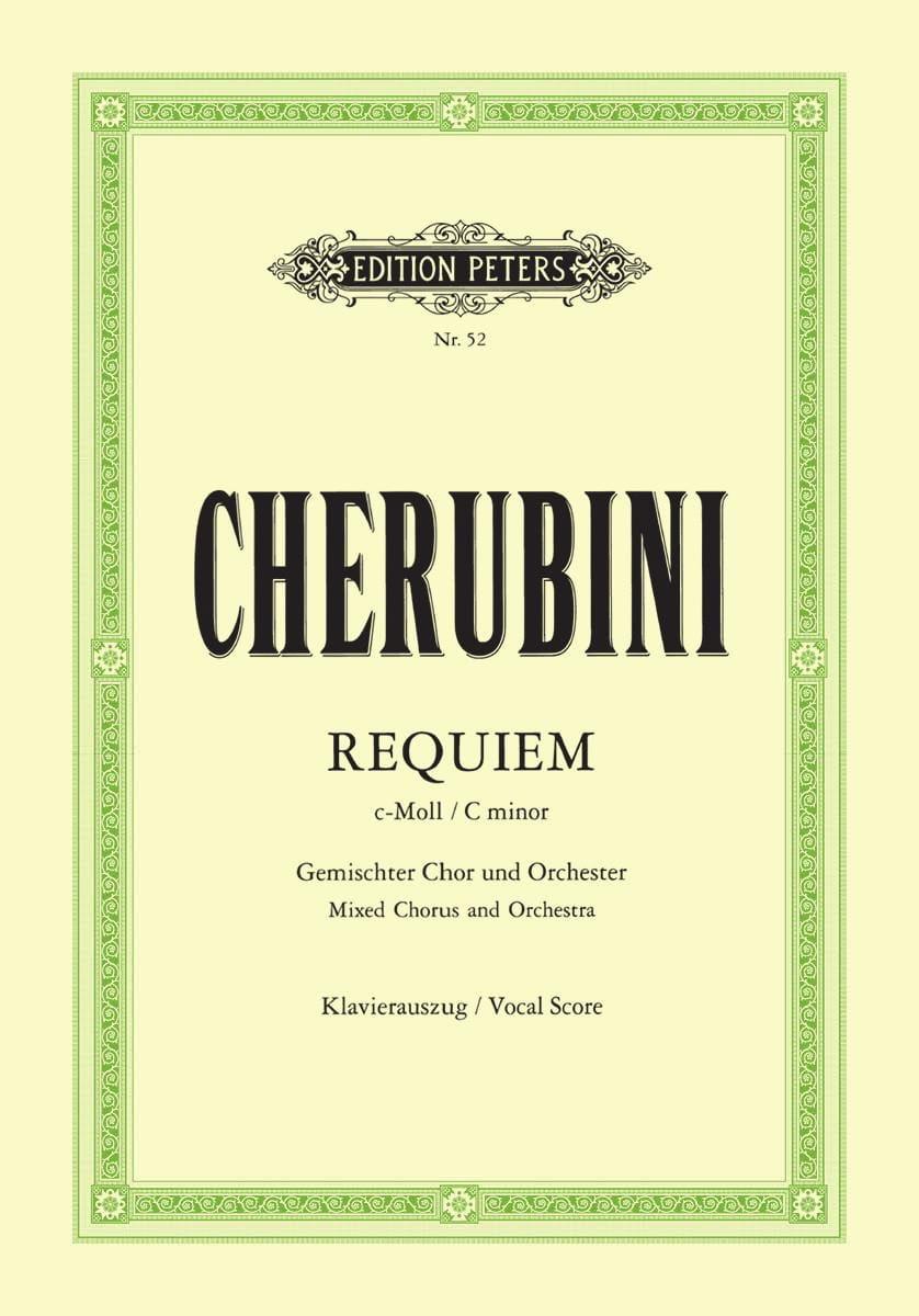 Requiem En Ut Mineur - Luigi Cherubini - Partition - laflutedepan.com