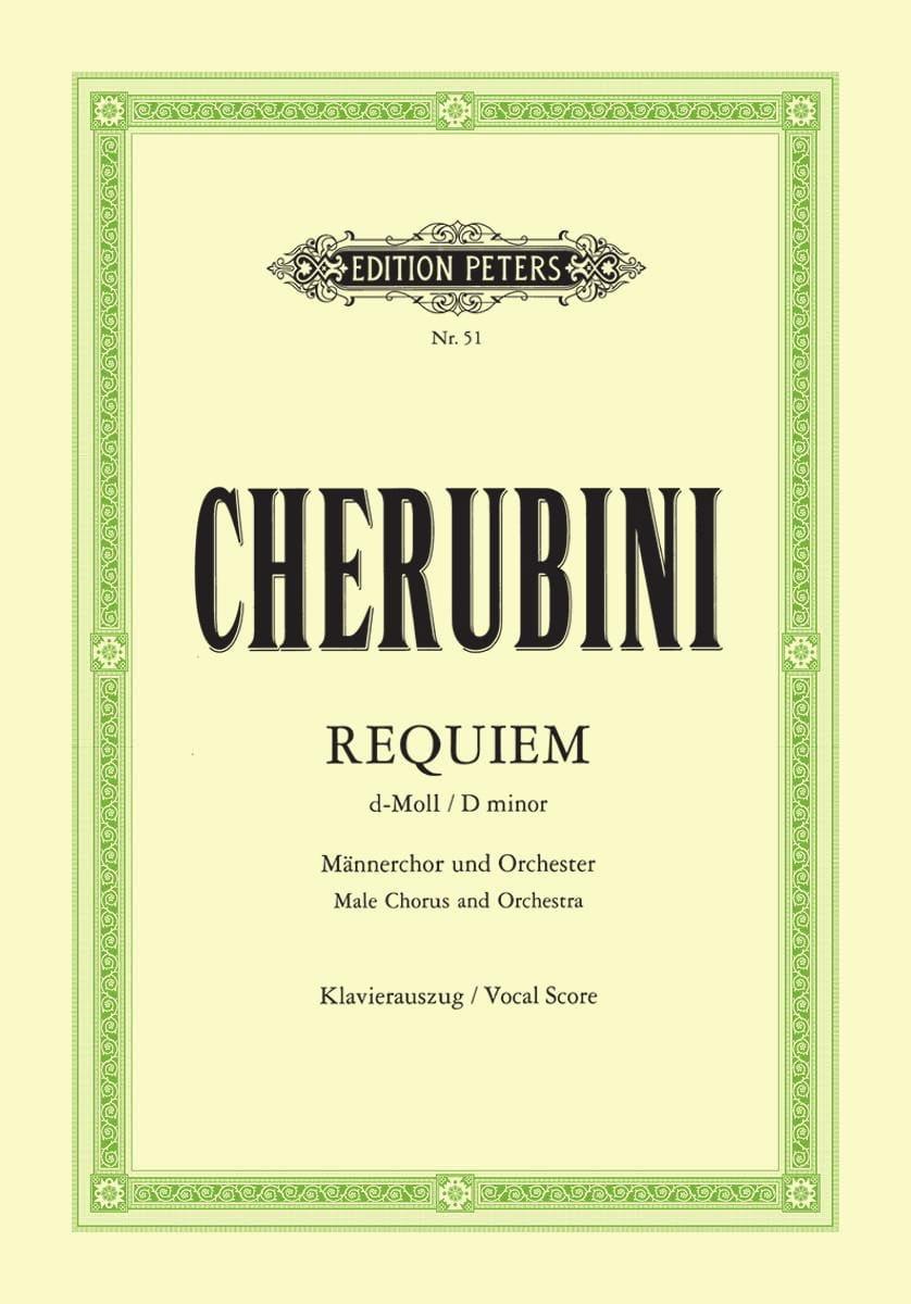 Luigi Cherubini - Requiem D Minor - Partition - di-arezzo.co.uk