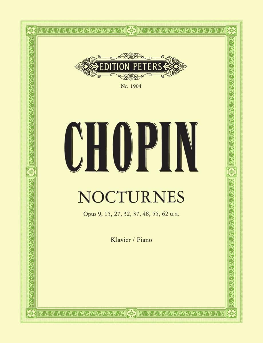 CHOPIN - 21 Nocturnes - Partition - di-arezzo.co.uk