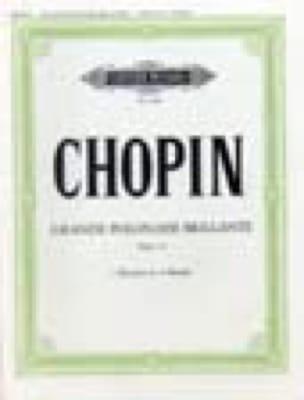 CHOPIN - Great Polish Brillante Opus 22. 2 Pianos - Partition - di-arezzo.co.uk