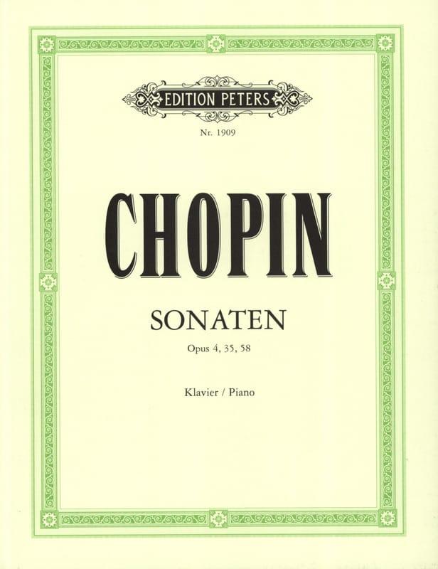 3 Sonates - CHOPIN - Partition - Piano - laflutedepan.com