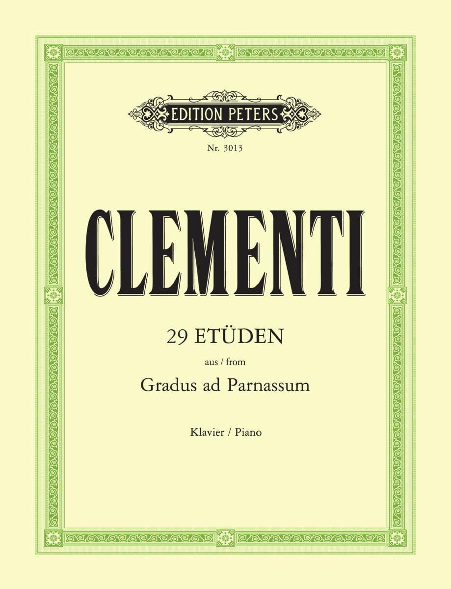 Gradus Ad Parnassum - CLEMENTI - Partition - Piano - laflutedepan.com
