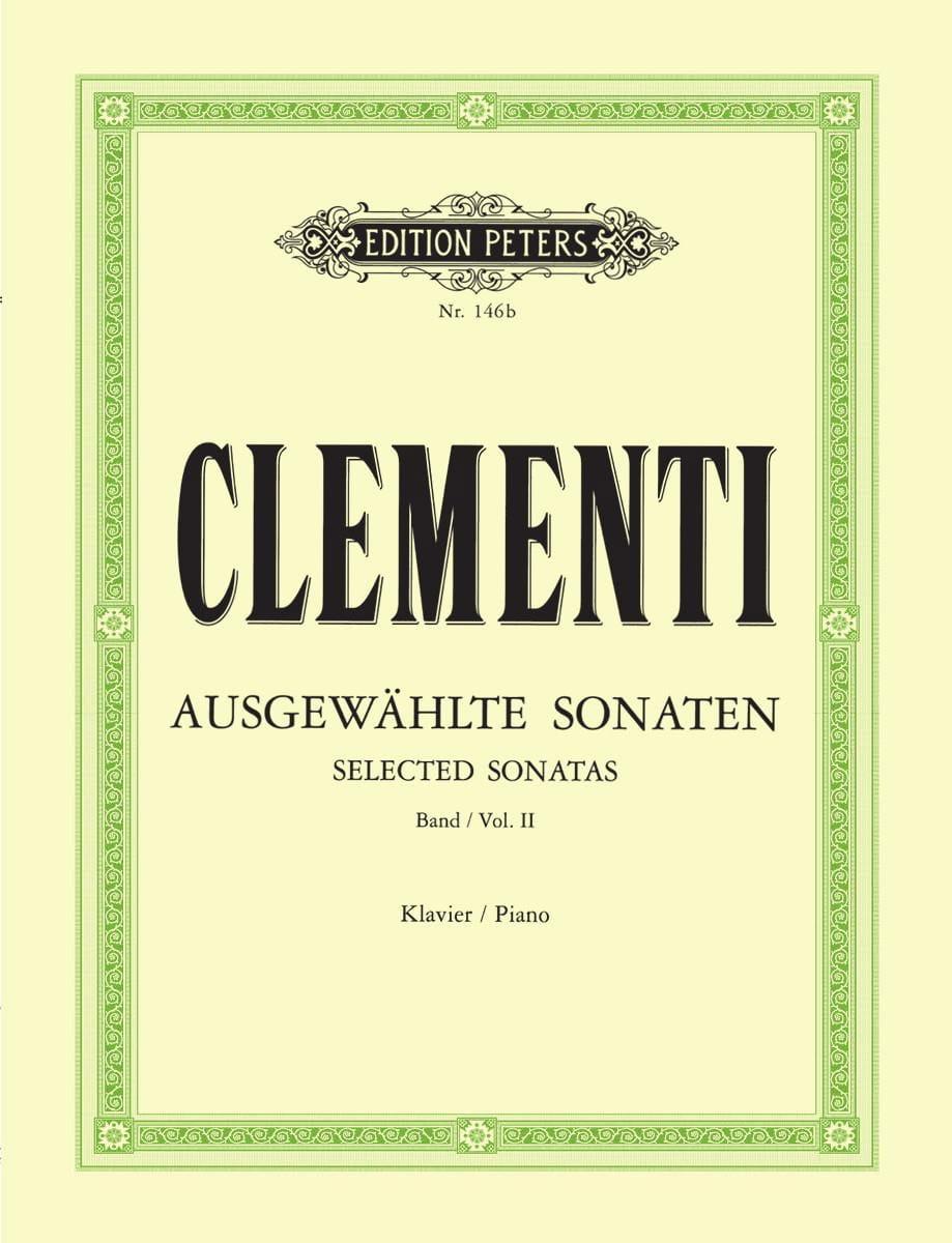 Muzio Clementi - Sonatas. Volumen 2 - Partition - di-arezzo.es