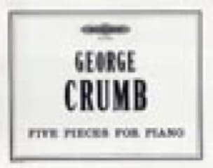 George Crumb - 5 piezas - Partition - di-arezzo.es