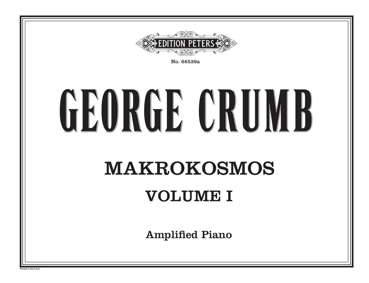 George Crumb - Makrokosmos. Volume 1 - Partition - di-arezzo.it