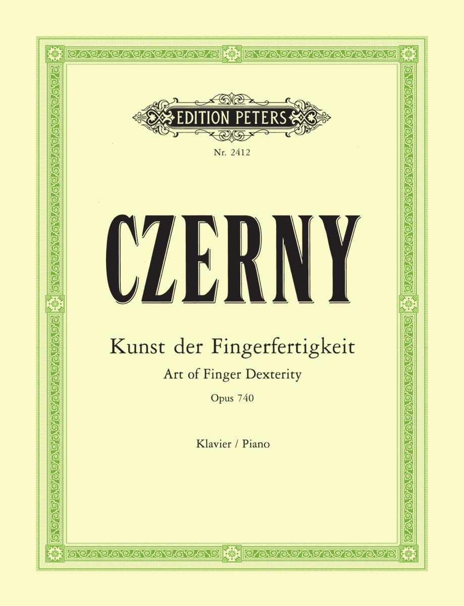 CZERNY - The Art of Untying the Fingers Opus 740 (699) - Partition - di-arezzo.co.uk