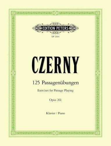 125 Etudes Elementaires Opus 261 - CZERNY - laflutedepan.com