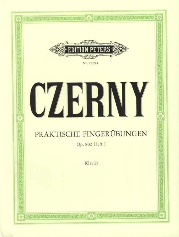 Praktische Fingerübungen Opus 802 Volume 1 - CZERNY - laflutedepan.com