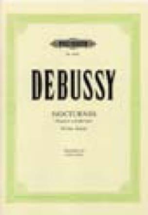 DEBUSSY - Sirenas. N ° 3 de los Nocturnos - Partition - di-arezzo.es