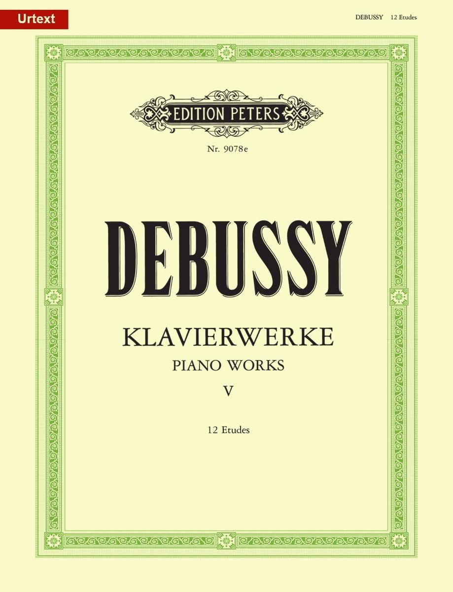 12 Etudes - DEBUSSY - Partition - Piano - laflutedepan.com
