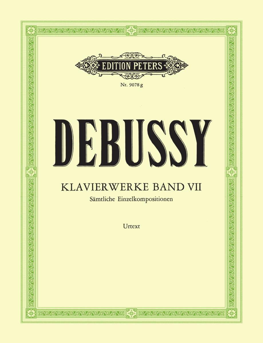 Oeuvres Pour Piano. Volume 7 - DEBUSSY - Partition - laflutedepan.com